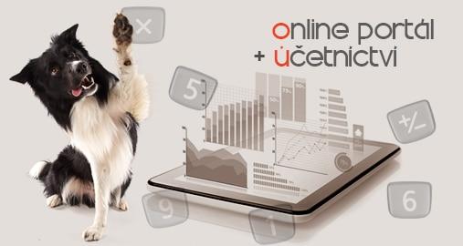 Online portál + účetnictví